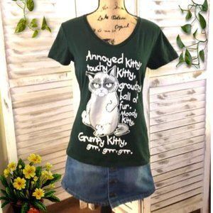 Grouchy Kitty Tee (T-Shirt) - Big Bang Theory